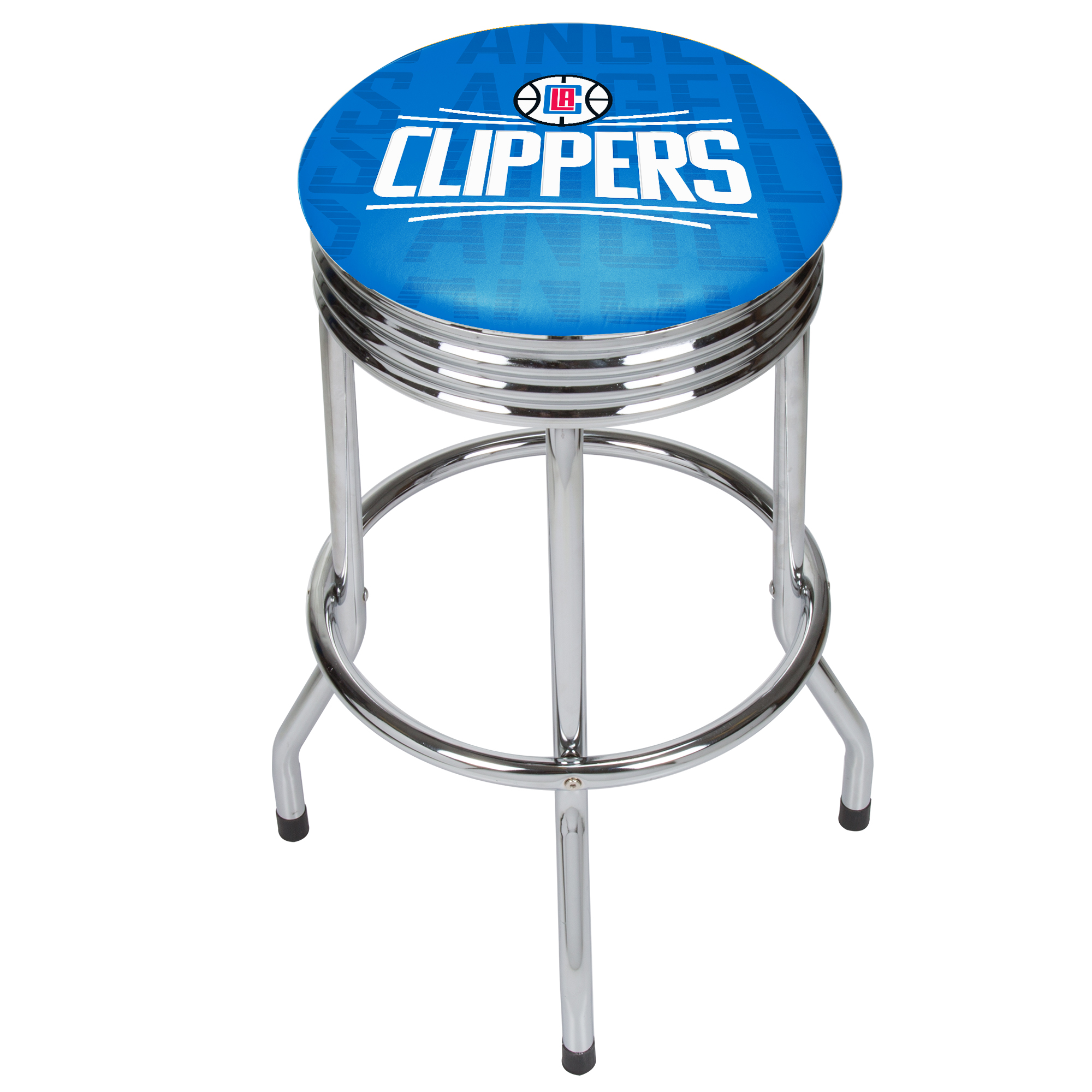 NBA Chrome Ribbed Bar Stool - City - Los Angeles Clippers
