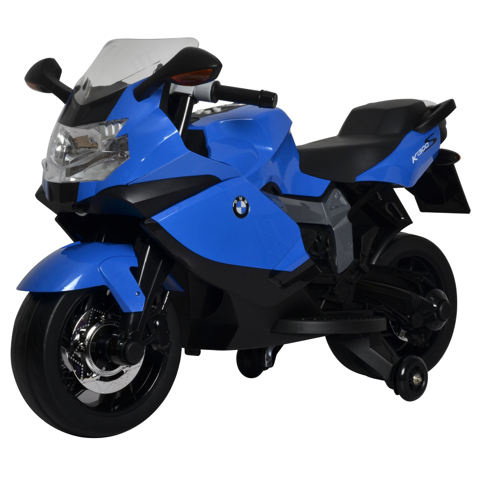 Licensed BMW Motorcycle 12V Kids Battery Powered Ride On Car Blue by KidFun Products