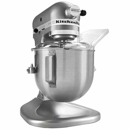 Kitchenaid ksm500ps pro 500 series 5 qt stand mixer silver metallic - Walmart kitchen aid stand mixer ...