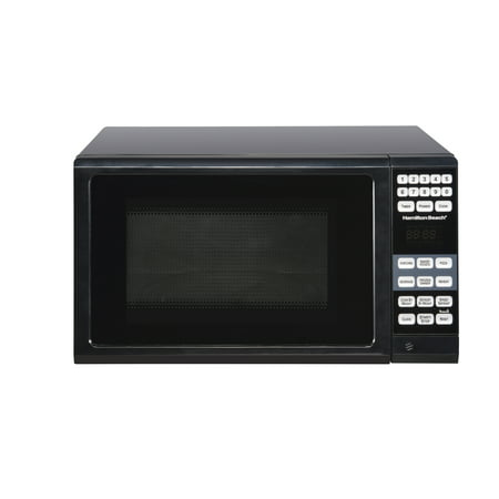 Hamilton Beach 0.7 Cu. Ft. Black Microwave Oven (Best Conventional Microwave Oven)