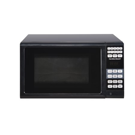 Hamilton Beach 0.7 Cu. Ft. Microwave Oven, Black