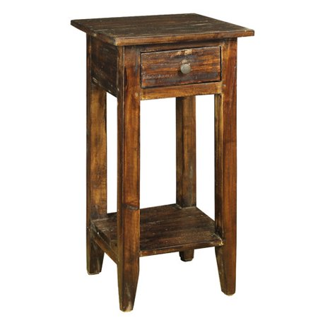 Antique Revival Francis 1 Drawer Nightstand - Antique Revival Francis 1 Drawer Nightstand - Walmart.com