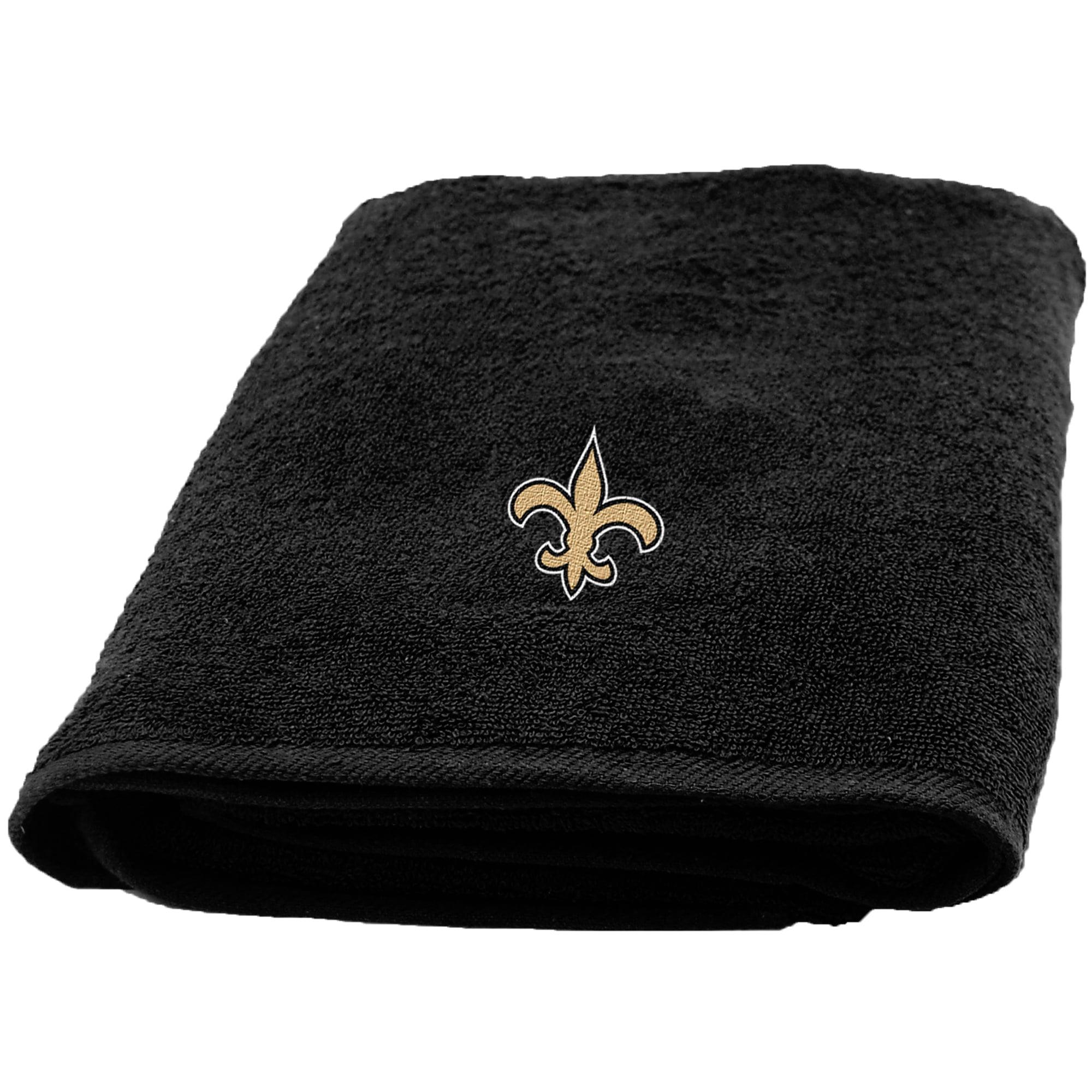 New Orleans Saints The Northwest Company 25'' x 50'' Applique Bath Towel - No Size