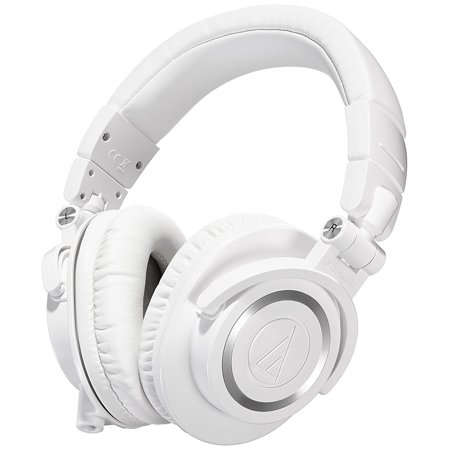 Audio-Technica ATH-M50xWH Professional Studio Monitor White
