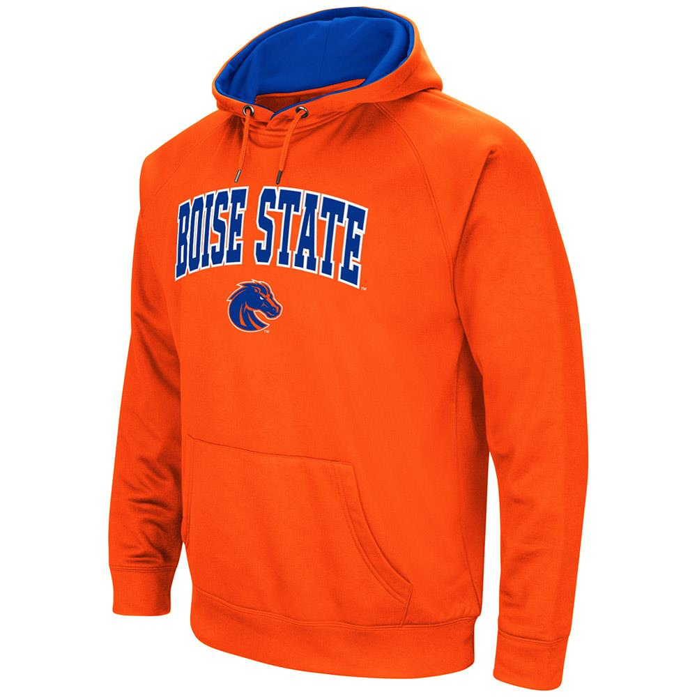 Mens NCAA Boise State Broncos Fleece Pull-over Hoodie by Colosseum