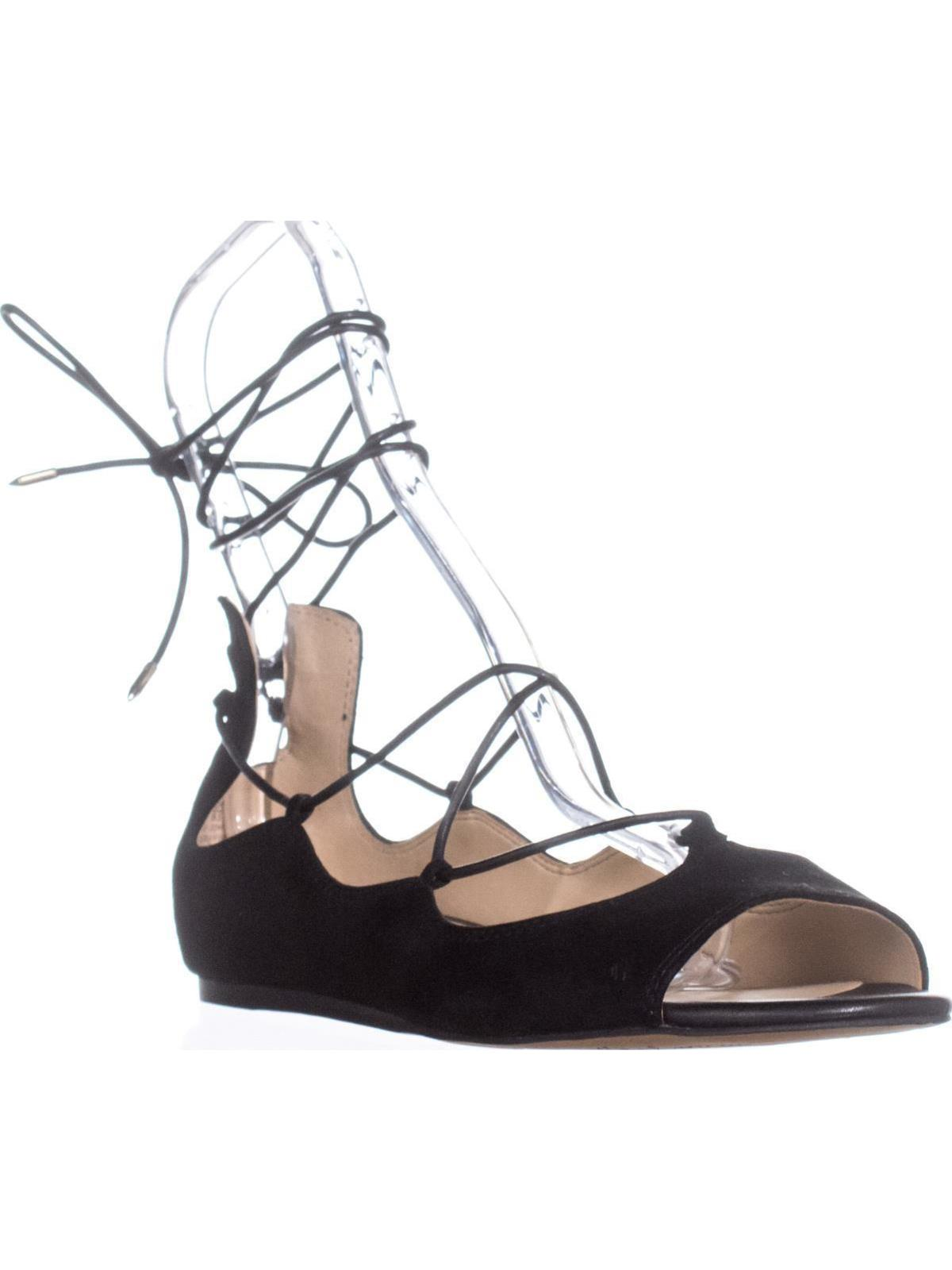 451bd9b6a534 Sam Edelman Barbara Lace Up Ballet Flats
