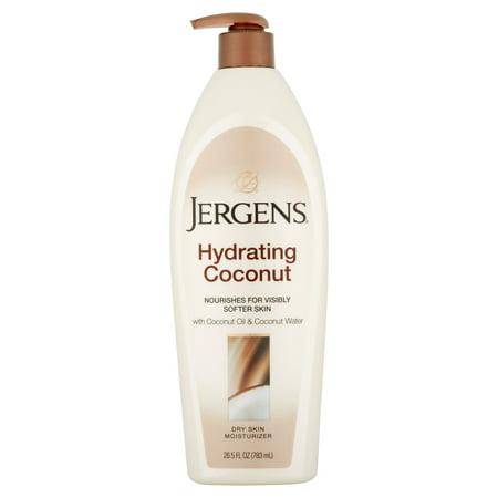 Jergens Hydrating Coconut Dry Skin Moisturizer, 26.5 fl oz