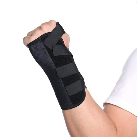 FITTOO Carpal Tunnel Night Time Wrist Brace for Men Women - Relief for RSI, Cubital Tunnel, Tendonitis, Arthritis, Wrist Sprains. Support Recovery & Feel Better Now (Right (Best Night Time Wrist Brace For Carpal Tunnel)