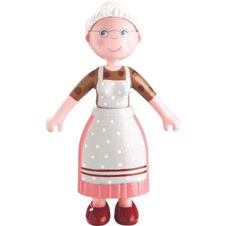 Little Friends - Grandma Elli - Doll Houses Figure by Haba (Hi Bac Litter Pan)