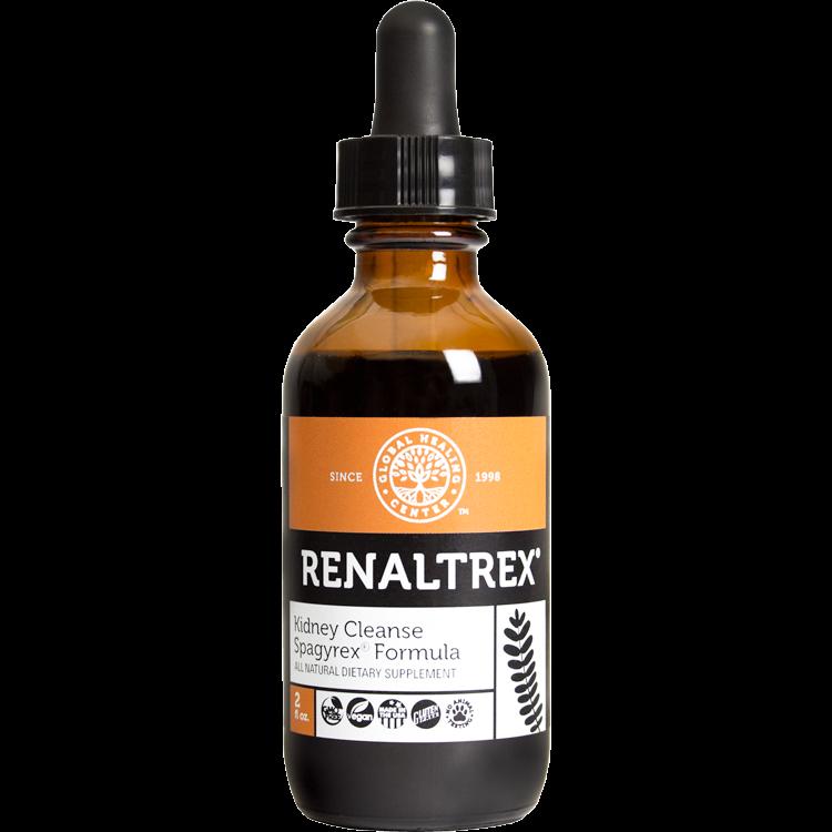 Global Healing Center Renaltrex Vegan-friendly, Herbal Kidney Support Formula