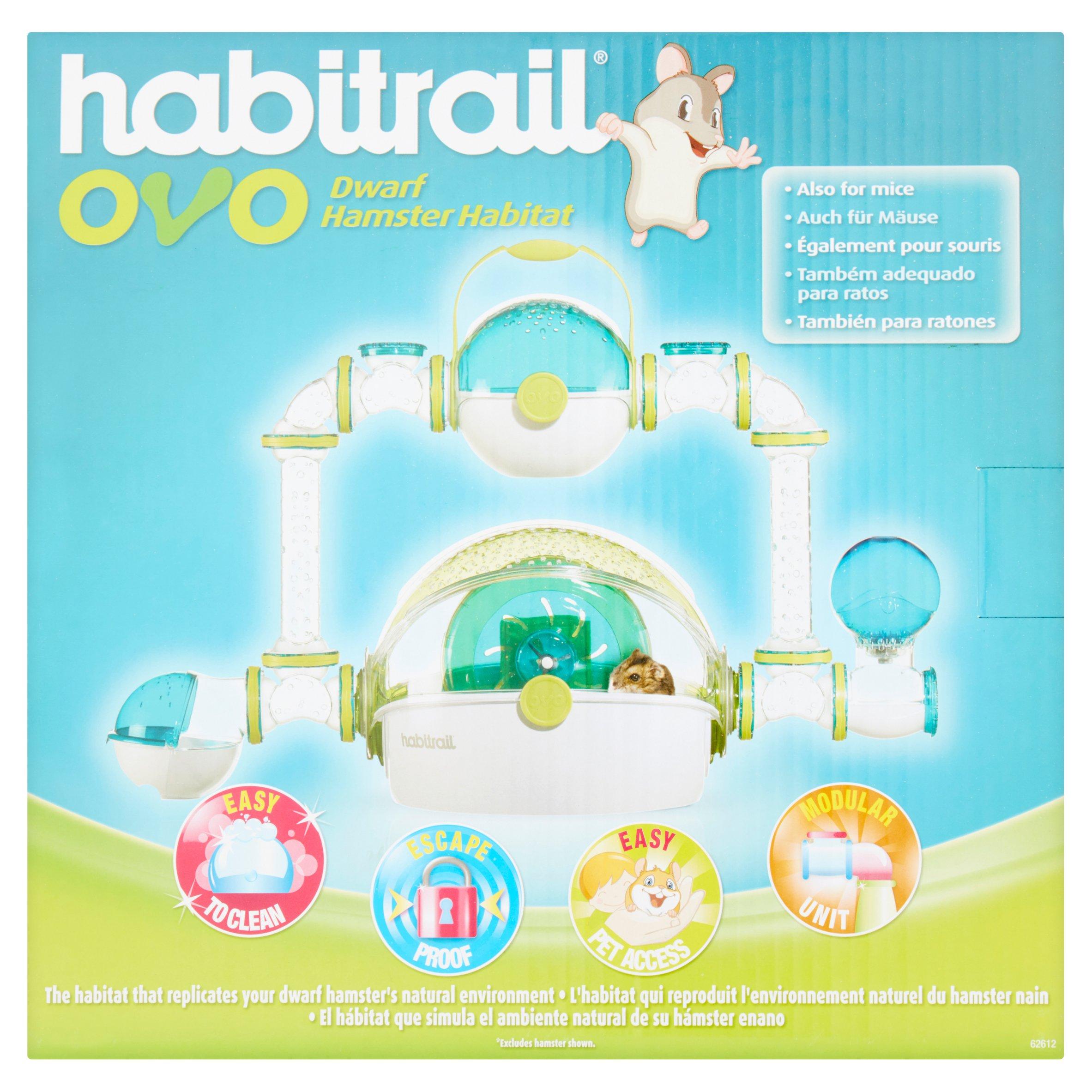 Habitrail OVO Dwarf Hamster Habitat by Rolf C. Hagen Corp.