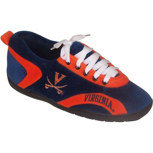 Comfy Feet NCAA All Around Youth Slippers - Virginia Cavaliers