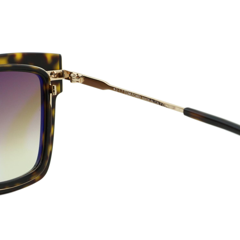 23cedf3d83 Tom Ford - Sunglasses Tom Ford FT 0573 Lara- 02 52F dark havana   gradient  brown - Walmart.com