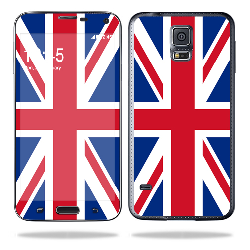 Mightyskins Protective Skin Decal Cover for Samsung Galaxy S5 Cell Phone wrap sticker skins British Pride