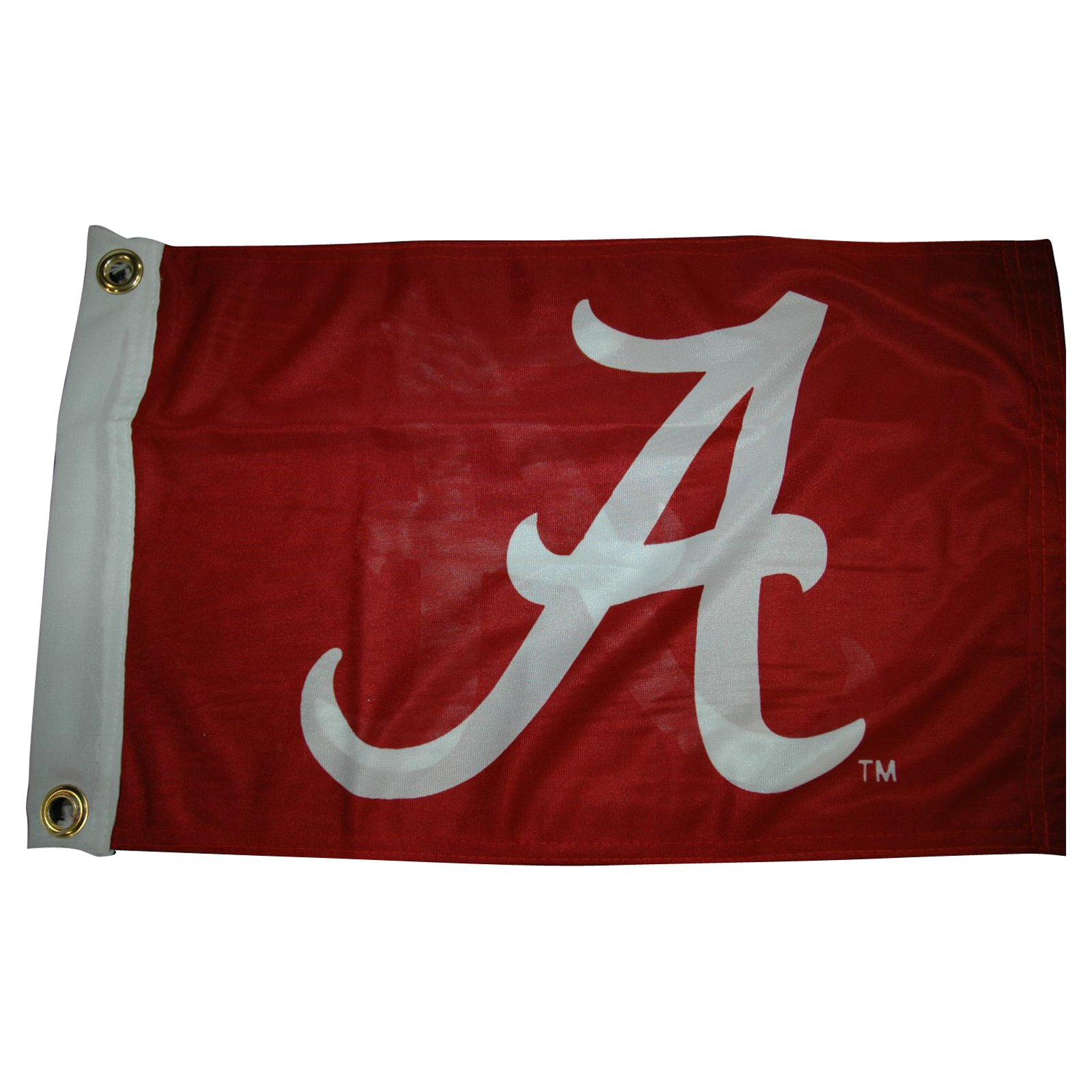 "Flagpole To Go 14"" x 15"" Alabama Crimson Tide Golf Cart Flag"