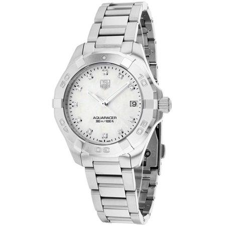Tag Heuer Women's Aquaracer Watch Quartz Sapphire Crystal WAY1313. BA0915
