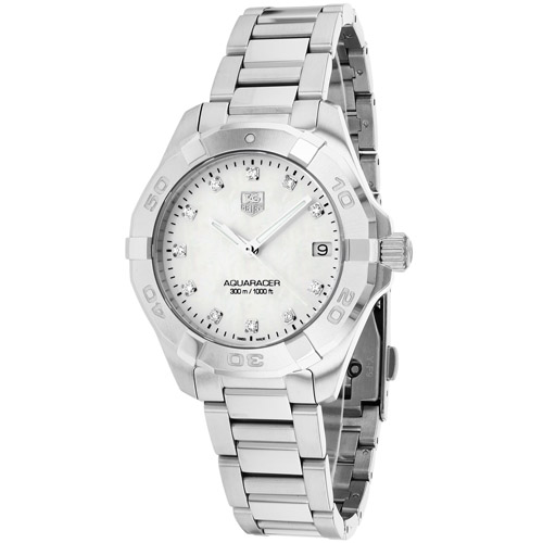 Tag Heuer Women's Aquaracer Watch Quartz Sapphire Crystal WAY1313.BA0915