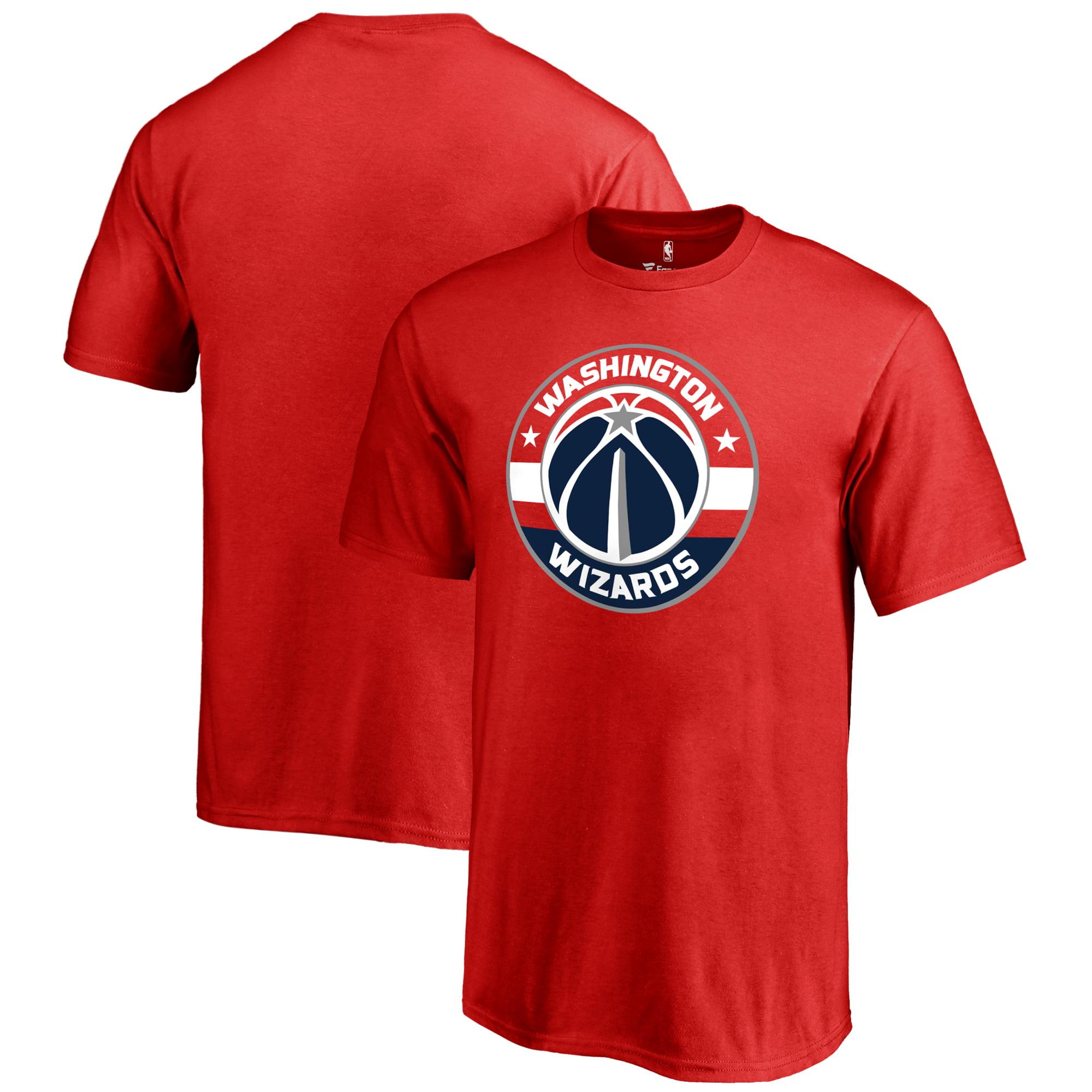 Washington Wizards Fanatics Branded Youth Primary Logo T-Shirt - Red