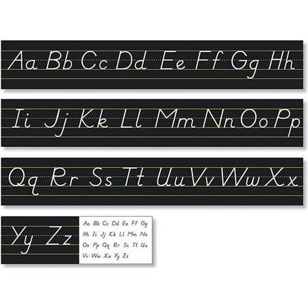 North Star Teacher Resource NST9032 Modern Manuscript Alphabet Line, Black - image 1 of 1