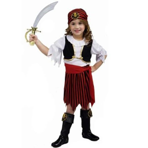 Toddler Pirate Girl Costume by