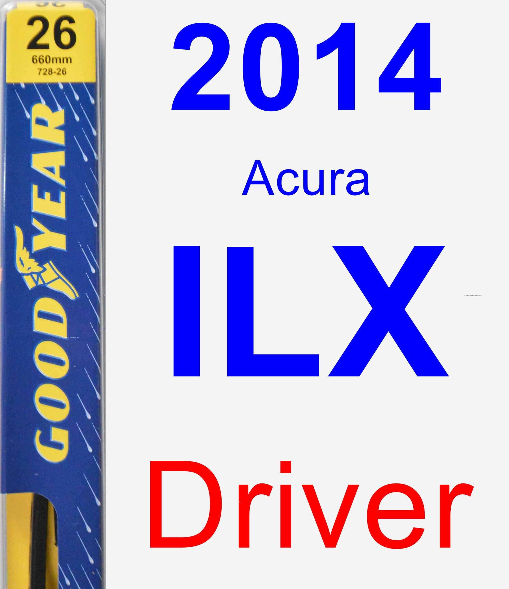 2014 Acura ILX Driver Wiper Blade