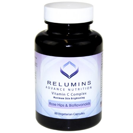 Relumins Advance Vitamin C - MAX Skin Whitening Complex With Rose Hips & Bioflavinoids - 60