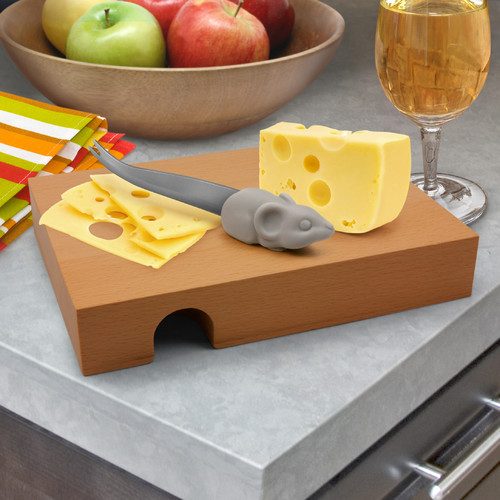 Fred & Friends Nibbled Cheese Board