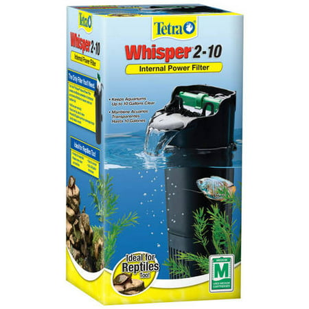 Tetra Whisper 2 -10 Gallon Depth Power Filter for - Turtle Supplies
