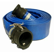 Apache 98138049 2 in. x 50 ft. PVC Discharge Coupled Poly C x E Assembly