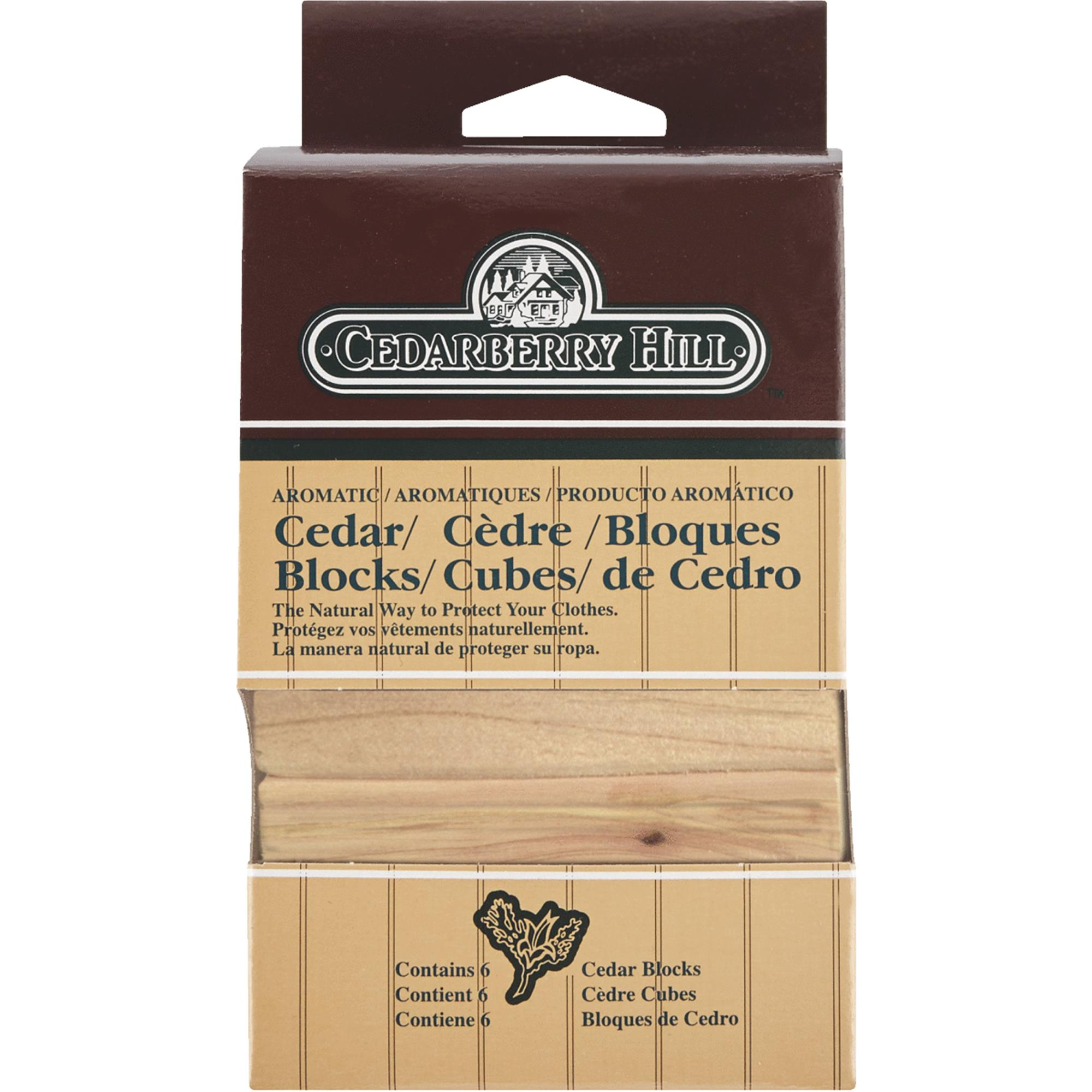Scented Cedar Blocks