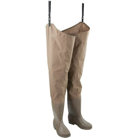 Hodgman Mackenzie Cleated Bootfoot Hip Fishing Waders (Size 10) ()