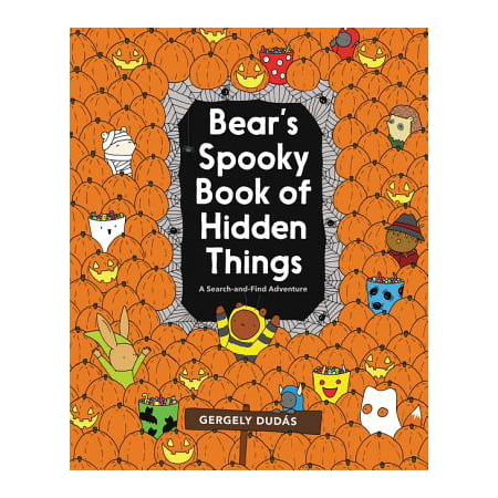 Bear's Spooky Book of Hidden Things: Halloween Seek-And-Find (Paperback) - Spooky Halloween Playlist For Kids