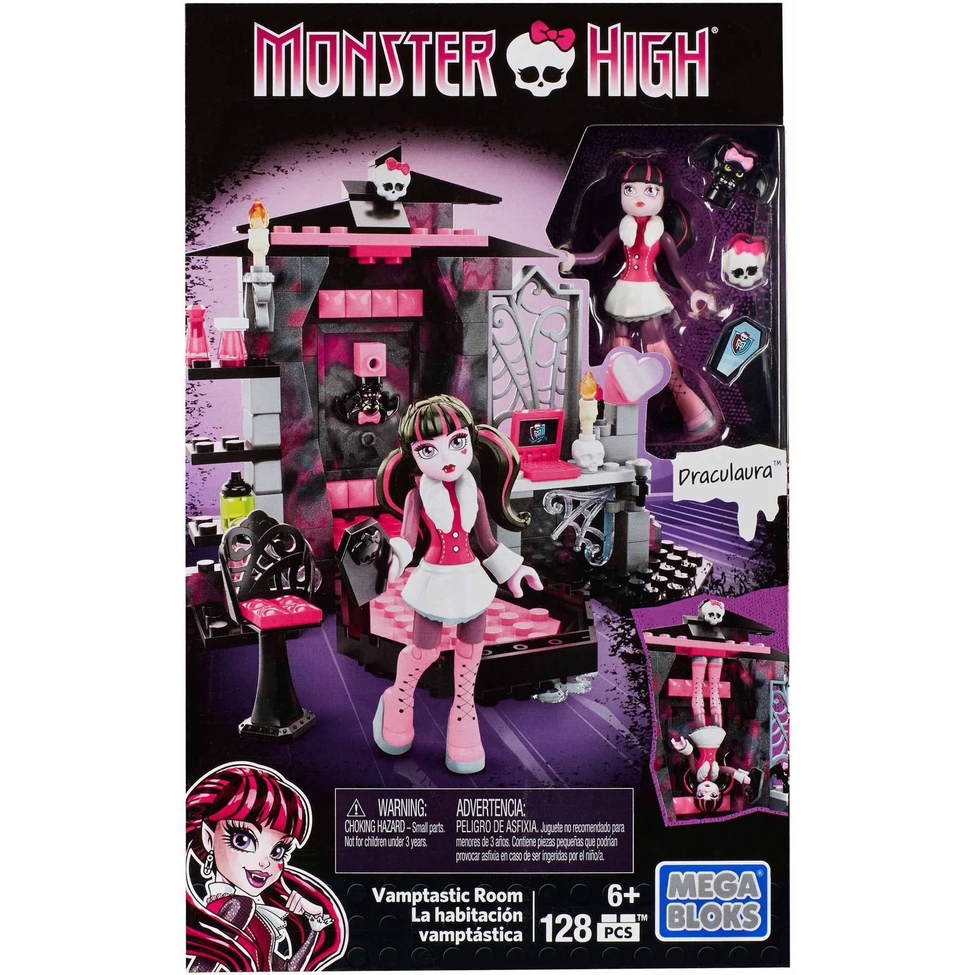 Mega Bloks Monster High Draculaura Vamptastic Room