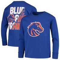 Youth Russell Athletic Royal Boise State Broncos Graphic Long Sleeve T-Shirt