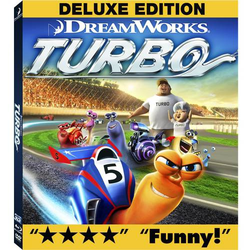 Turbo (3D Blu-ray + Blu-ray + DVD + Digital HD) (Deluxe Edition) (With INSTAWATCH) (Widescreen)