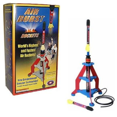 Air Burst Air Rocket Complete System - Air Rocket Toy
