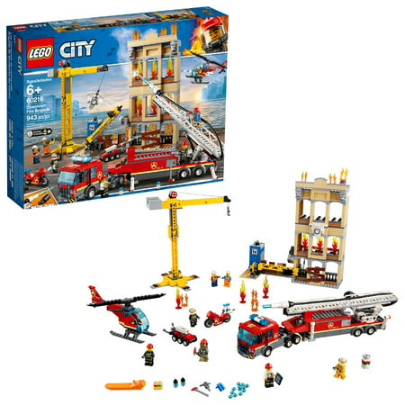 LEGO City Fire Downtown Fire Brigade 60216