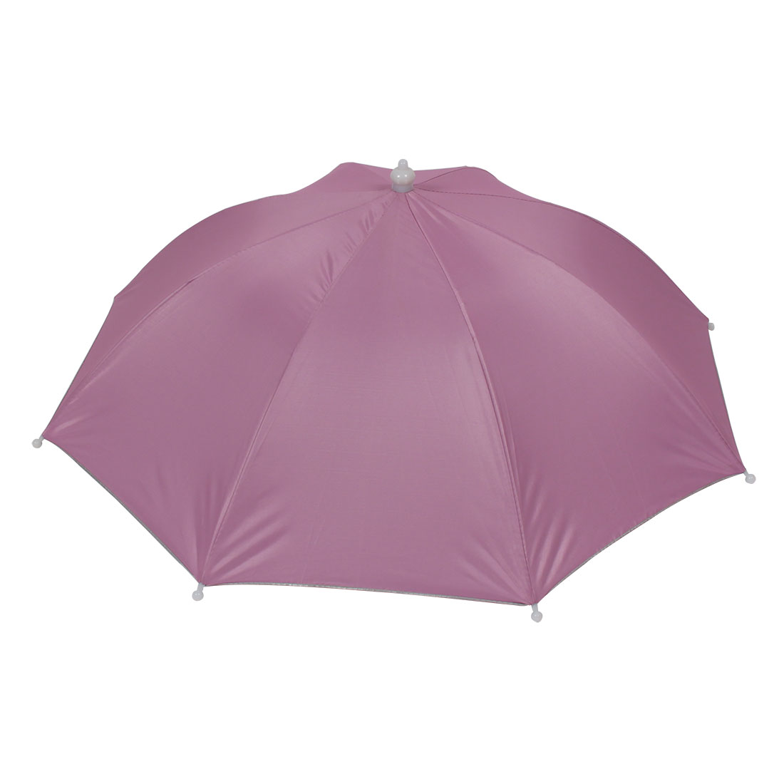 Unique Bargains Pink Hands Free Polyester Sun Umbrella Hat for ... ee53982f3685