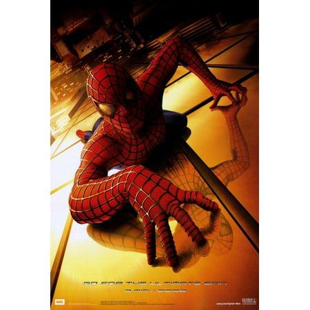 Spider Man 2002 27x40 Movie Poster