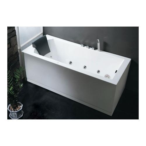 Merveilleux Eago AM154 5 R 5u0027 Right Drain Rectangular Corner Whirlpool Bath Tub With