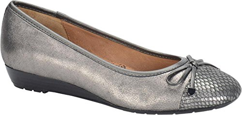 Sofft Selima Round Toe Suede Flats by Sofft
