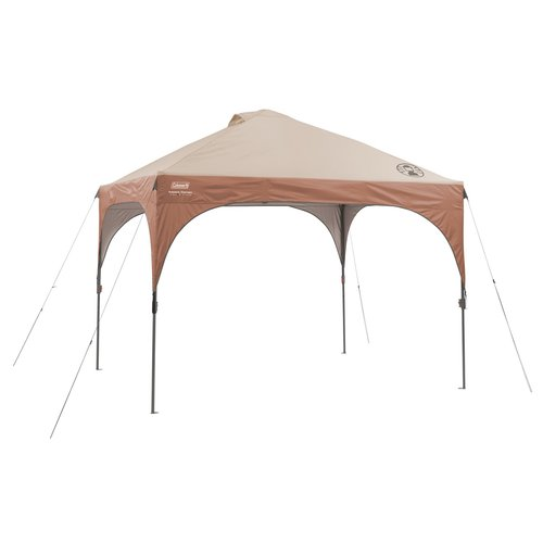 Click here to buy Coleman 10' X10 LED Lighted Straight Leg Instant Canopy Gazebo by COLEMAN.