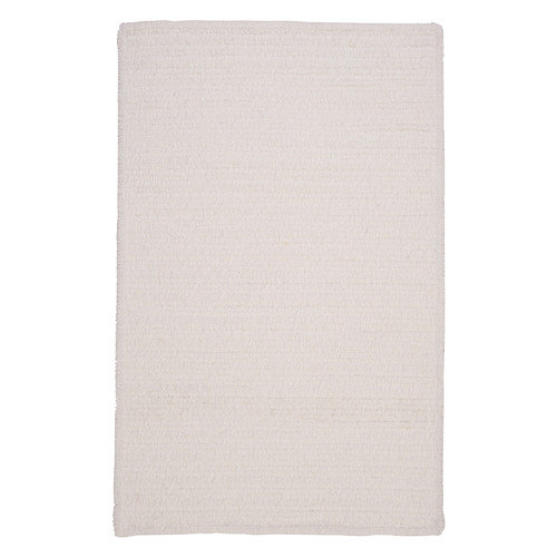 Colonial Mills Simple Chenille Cloud White Indoor/Outdoor Area Rug