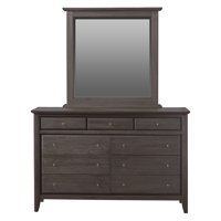 Modus City II 9-Drawer Dresser with Optional Mirror