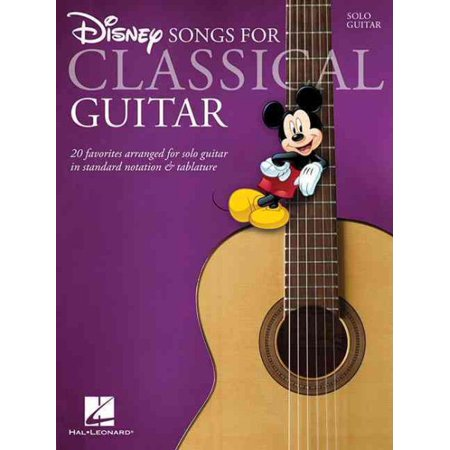 Disney Songs for Classical - Halloween Songs For Guitar Tabs