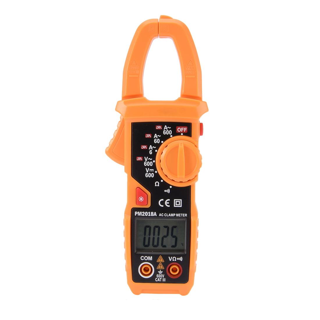 DMiotech PM2018A Digital Multimeter Ammeter Voltage Ohmmeter Clamp Meter Tester by Unique-Bargains