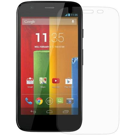 Clear Screen Protector Scratch Guard Shield for Sprint Motorola Moto G, Motorola Moto G XT1032