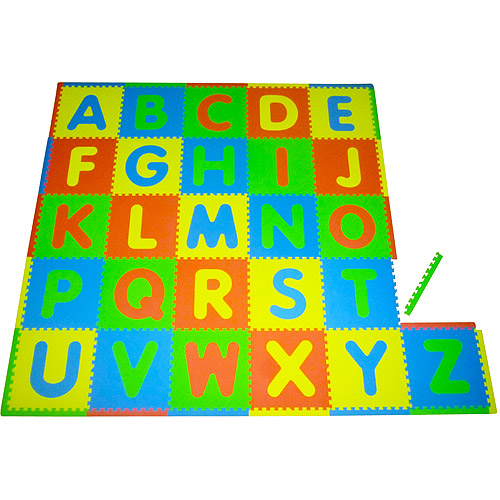 Seed Sprout ABC 26pc Playmat Set