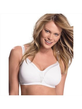 3cfd26bbb3a04 Product Image 4803 18 Hour Sensationally Sleek Wirefree Bra Size 42C - White