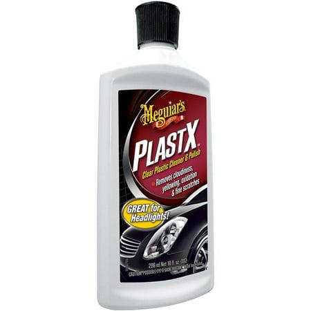 Car Lens Polish (Meguiar's G12310 PlastX Clear Plastic Cleaner & Polish, 10 oz )